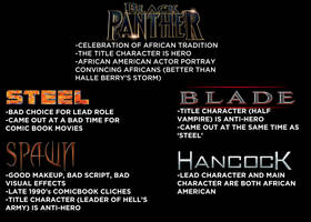Lets get one thing about Black Panther right by JMK-Prime
