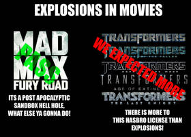 Why Mad Max gets a pass but not Transformers by JMK-Prime