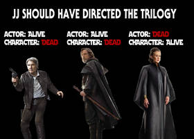 The New Star Wars Trilogy by JMK-Prime