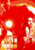 August Avengers #1.1 - Iron Man (2008) by JMK-Prime