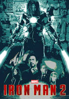 August Avengers #3.2 - Iron Man 2 (2010) by JMK-Prime