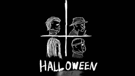 Inktober - Halloween 2018 by JMK-Prime