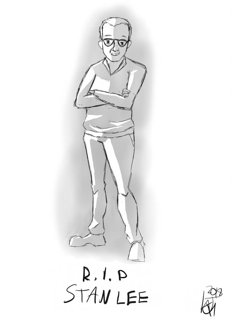 R.I.P. Stan 'The Man' Lee by JMK-Prime