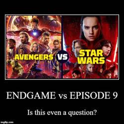 Avengers: Endgame vs Star Wars: Episode 9? (Poll) by JMK-Prime
