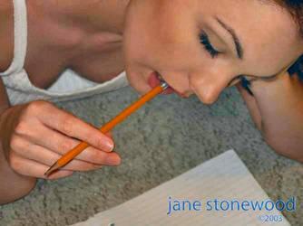 Jane Stonewood - Homework 02 by Dreamerforever2004