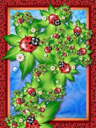 Ladybugs by Liuanta