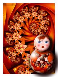 Matryoshka by Liuanta