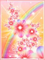 Rainbow burst by Liuanta