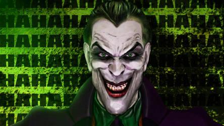 Joker MWAHAHA by abazou