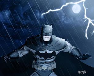 A wet Bat! by abazou