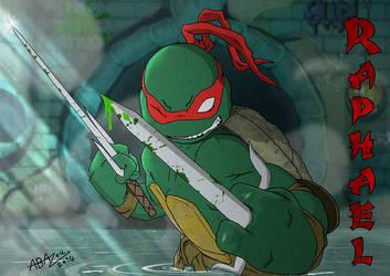 The badass raphael! by abazou
