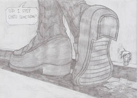 Giant Shoe 3 by TheKenzai1987