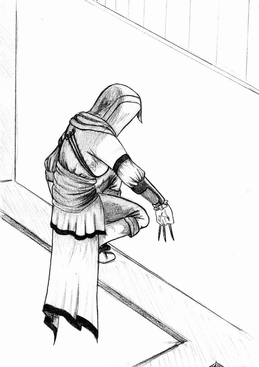 Arietta Chiarelli - Stalking [Line art] by Airi-nyan