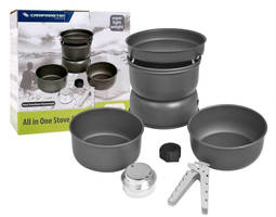 Camping Cook Set by Outdoorfriend