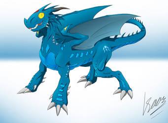 Dagai The Tropical Dragon by Metrosaurus
