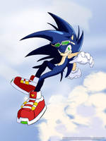 Sonic the Hedgehog: Rider by Genocidebb-Shadow