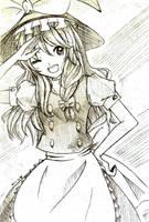 Touhou Marisa by Crysta198