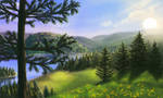 Pine Forest by StefanieDworschak