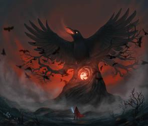 The Raven King by StefanieDworschak