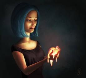 The Melting Heart by StefanieDworschak