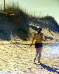 Walking on the Beach by photog-road