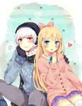 ||+ Tondan and Mason +|| #CM to Pumpkin-Puff by hyuugalanna
