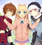 ||+ Tondan, Mason and Kenny+|| #CM to Pumpkin-Puff by hyuugalanna