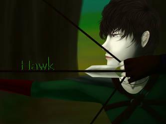 Hawk by CrystalGuitars1214