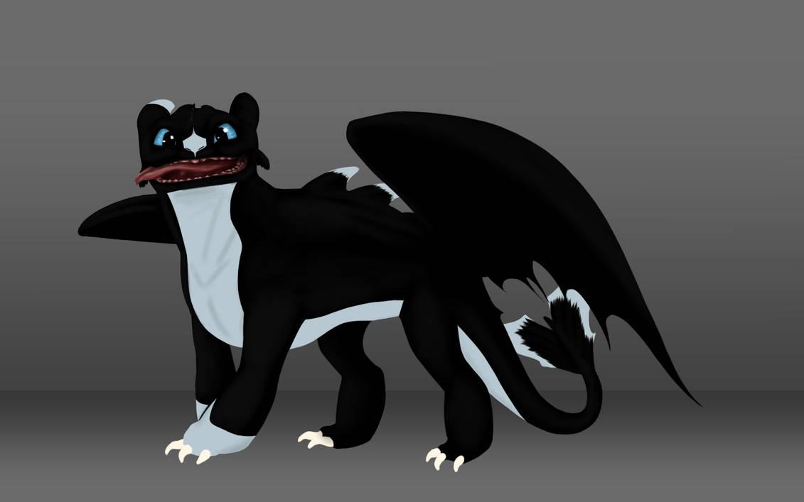 Night Light Drago.... by CrystalGuitars1214