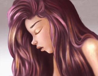Violet by myjerart