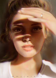 Light study 03 by myjerart