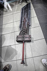 CLOUD CES 004 BUSTER SWORD by neworder843