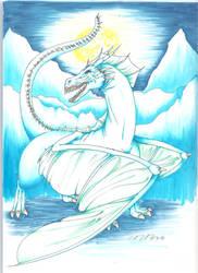 Ice dragon by Nanamichi