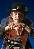 Stevie Ray Vaughan by liamail