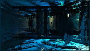 Forbidden blue by Vidom