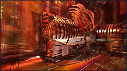 Art machines: the Trojan Horse by Vidom
