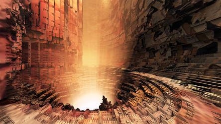 The well of nothingness by Vidom