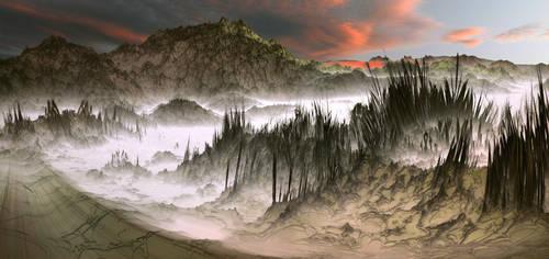 Walking my dream toward your poppy fields by Vidom