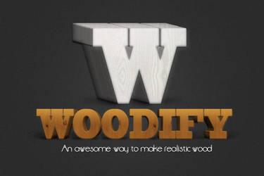 Woodify realistic 3d wood creator by frameartdesign