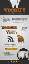 Woodify realistic 3d wood by frameartdesign
