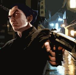 Yakuza Kazuya by AlienMonkey