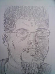 Gesture Portrait by AlienMonkey