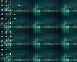 Lumines Desktop by AlienMonkey