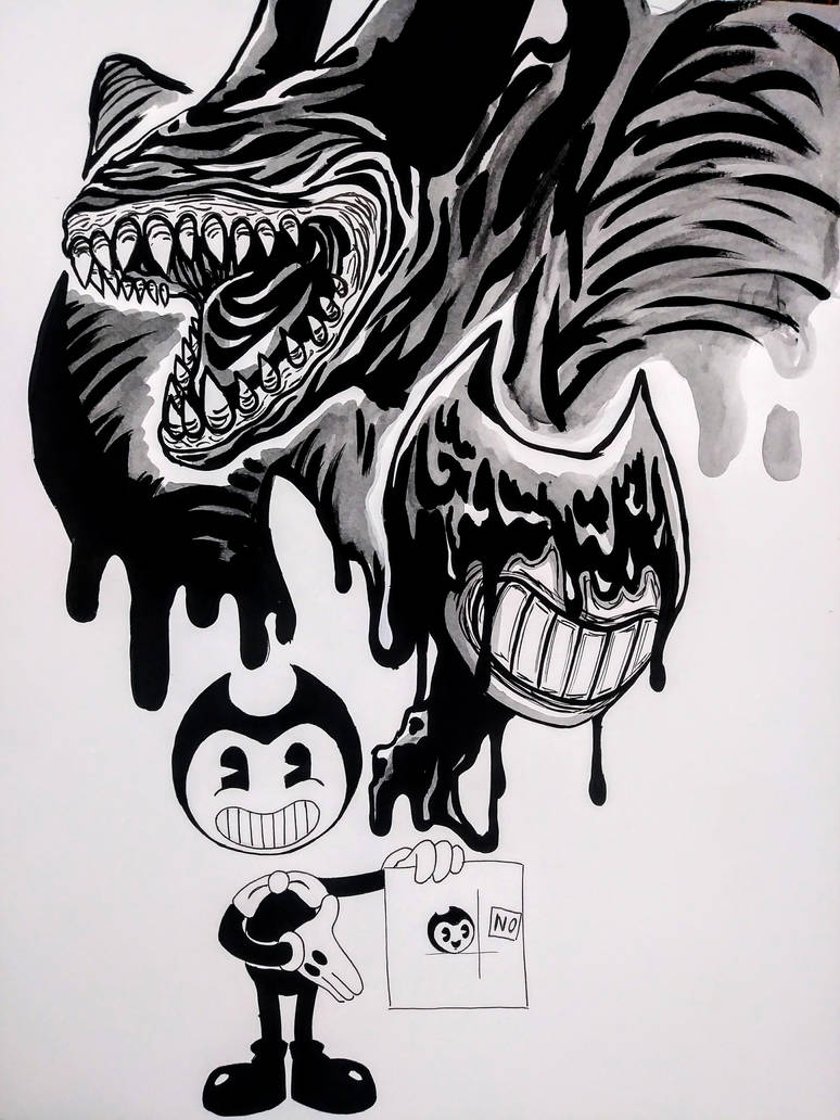 Bendy the Ink Demon (spoiler) by FullmetalDevil