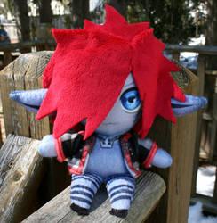 Monster Sora Plush by Nikicus