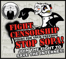 STOP SOPA by FROST513
