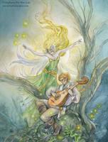 Beneath the Eildon Tree by puimun