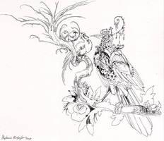 Artificer Bird 2 by puimun