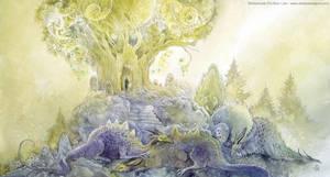 When Dragons Dream by puimun