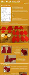 Elmo Plushie Pattern and Tutorial by puimun